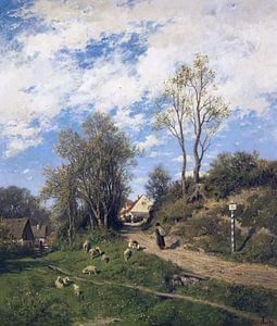 Frühling, ADOLF HEINRICH LIER, Ca. 1873