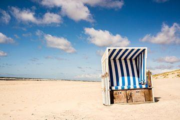 Strandstoel op Sylt aan de Noordzee van Animaflora PicsStock