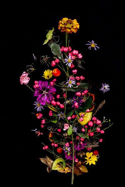 Blumenportett (Herbst) von Ineke VJ