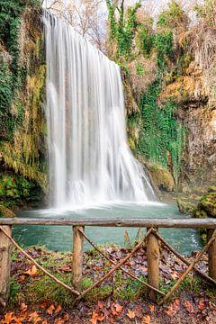 Waterval in Spanje van
