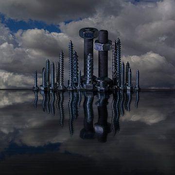 Skyline van Stefanie van Dijk