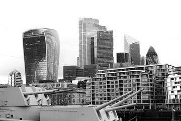 London - Skyline von Maurice Weststrate