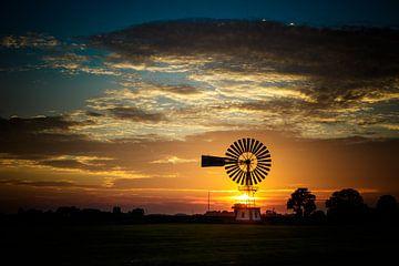 Sonnenuntergang von Jaap Terpstra