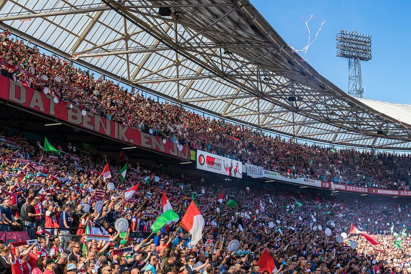 Feyenoord Rotterdam landskampioen 2016 - 2017 van Midi010 Fotografie