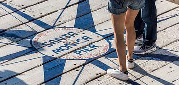 Los Angeles - Santa Monica Pier van Keesnan Dogger Fotografie