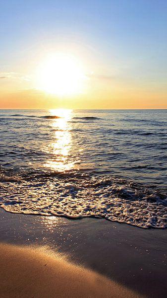 Ein schöner Abend van Ostsee Bilder