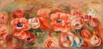 Anemonen van Renoir van Rudy en Gisela Schlechter