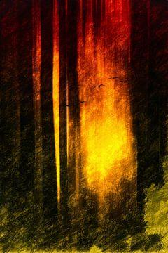 Stille des Waldes von Dagmar Marina