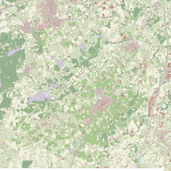 Kaart vanZundert