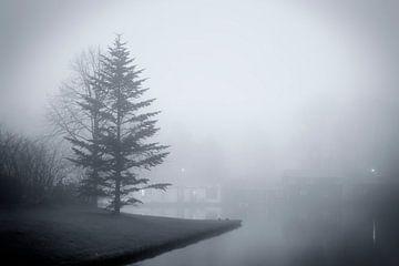 Mist aan De Oeverlanden