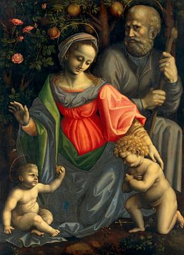 Die Heilige Familie mit Johannes dem Täufer, Bachiacca