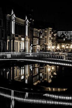 Leiden op zijn mooist! Catherinabrug Leiden! von Dirk van Egmond