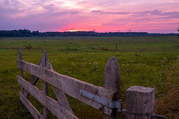 zonsondergang1 van Ben van Damme