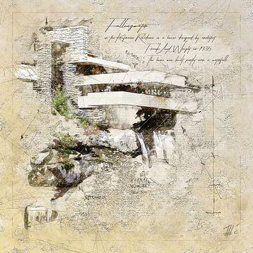 Fallingwater, Frank Lloyd Wright von Theodor Decker