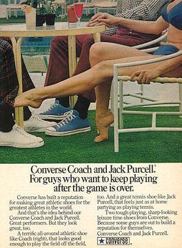 Vintage advertentie CONVERSE 1973 van Jaap Ros