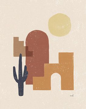 Desert Arches II, Moira Hershey van Wild Apple