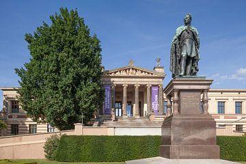 Staatliches Museum Schwerin  am alten Garten Schwerin, Mecklenburg-Vorpommern, Deutschland, Europa