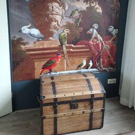 Kundenfoto: De menagerie, Melchior d'Hondecoeter von Hollandse Meesters