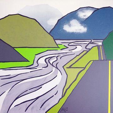 La côte ouest de la Nouvelle-Zélande sur Margot Korhonen