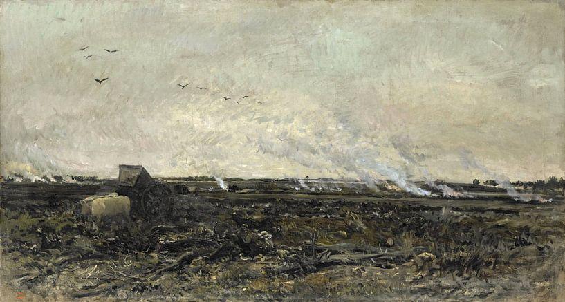 Oktober, Charles-François Daubigny von Meesterlijcke Meesters