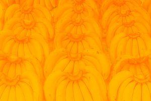 Bananen handen in het geel. van kall3bu