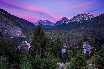 Zugspitze avondopname von Hans van den Beukel