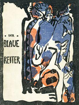 Der Blaue Reiter - Franz Marc en Wassily Kandinsky, 1912 von Atelier Liesjes
