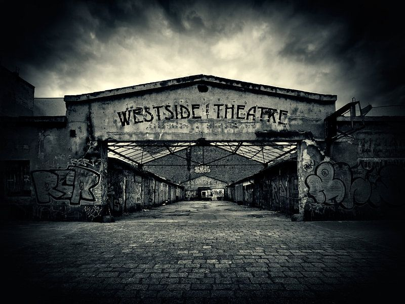 Black and White Photography: Berlin van Alexander Voss