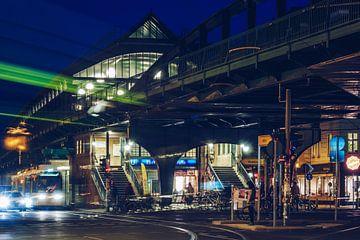 Berlin - Prenzlauer Berg / U-Bahnhof Eberswalder Strasse von Alexander Voss