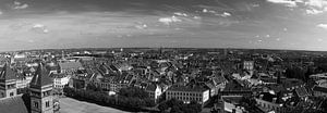 Maastricht Panorama vanaf het Vrijthof van