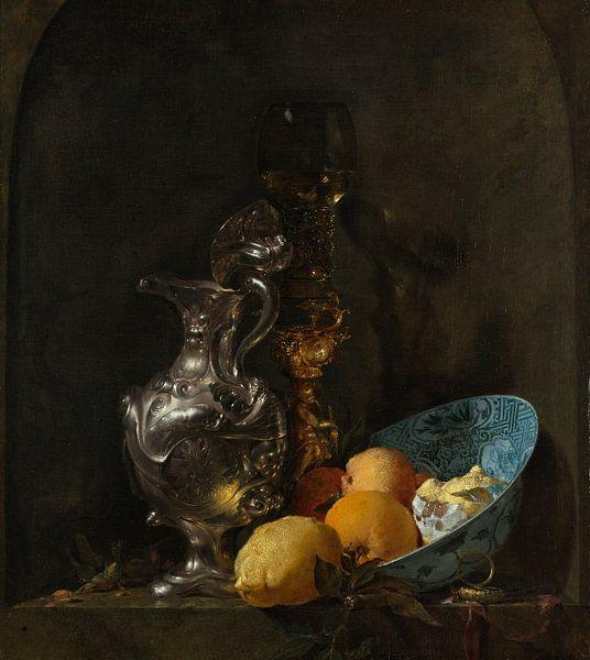 Willem Kalf. Stilleven, 1665 van 1000 Schilderijen
