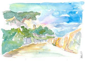 Guernsey Kanalinseln Spaziergang in der Sonne von Markus Bleichner