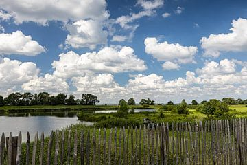 Schloss Muiderslot Landschaft von Annika Westgeest Photography