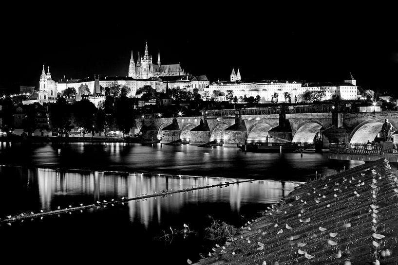 Prague la nuit sur Frank Herrmann