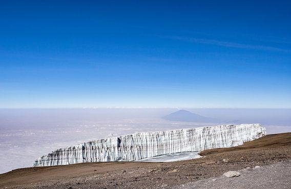 Op de top van Kilimanjaro van Ronne Vinkx