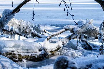 Zee-ijs op het strand van Holger Felix
