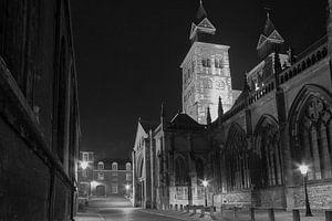 Maastricht:Achterzijde St.Servaas Kerk