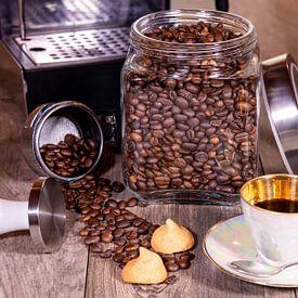 Espresso en koekjes van Peter Baier