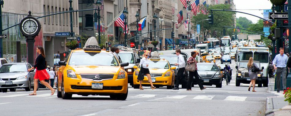 straatbeeld New York City van MadebyGreet Greetvanbreugel