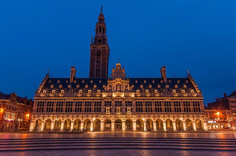 Universiteitsbibliotheek Ladeuzeplein Leuven van Bert Beckers