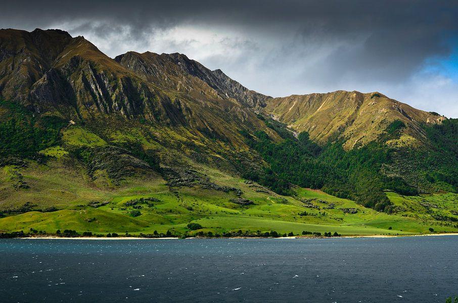 Lake Hawea - Nieuw Zeeland
