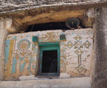 Rots Kerk Ethiopie Africa van