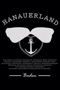 Hanauerland, Kappenschlupf, Anker, Herz von Kahl Design Manufaktur