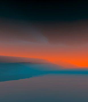 Mooie zonsondergang 5 van Angel Estevez