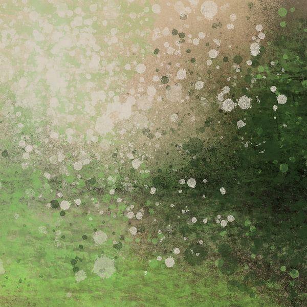 Green splatters von Go van Kampen