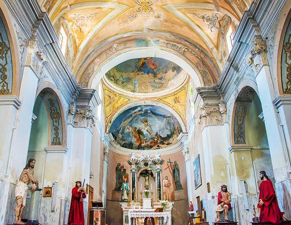 Kerk interieur van Harrie Muis