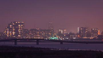 Skyline Nijmegen van Femke Straten