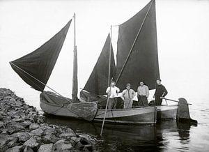 Vissersboten2 van Liesbeth Govers voor omdewest.com