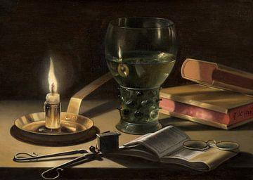 Stillleben mit brennender Kerze, Pieter Claesz