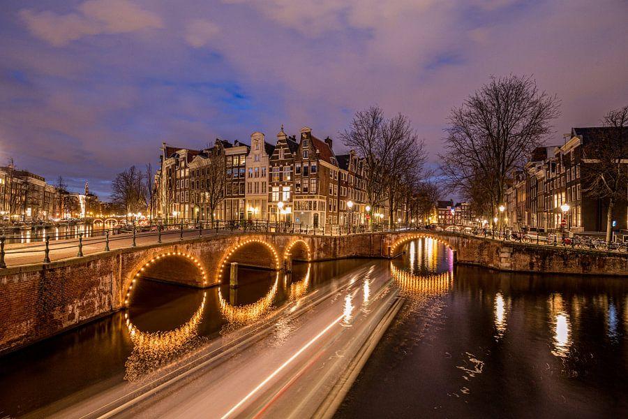 Leidsegracht Amsterdam van Tom Roeleveld